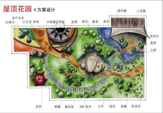 园林景观手绘图赏析免费下载 建筑效果图