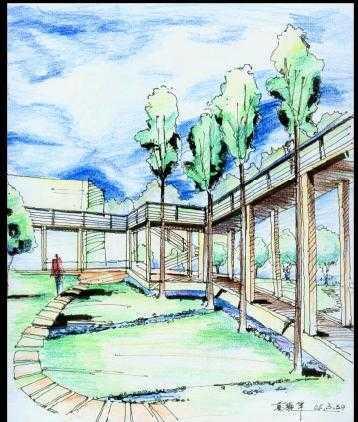手绘效果图图纸免费下载 - 建筑效果图 - 土木工程网