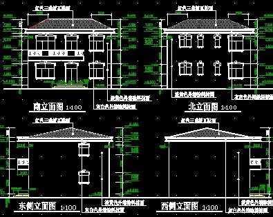 二层别墅设计图免费下载