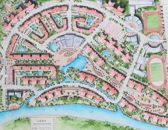 居住小区规划设计文本免费下载 建筑效果图