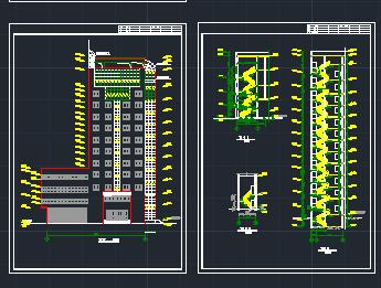 某地区十三层图纸建筑施工代表免费下载m1221图纸在酒店中图片
