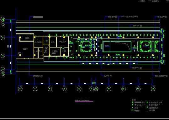 地铁车站装修图