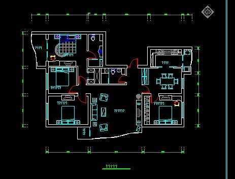 商住房装饰设计图图片