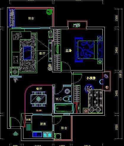 家庭装修施工图_标准家装施工图免费下载 - 建筑装修图 - 土木工程网