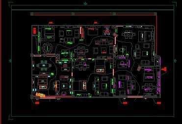 家具专卖店平面图