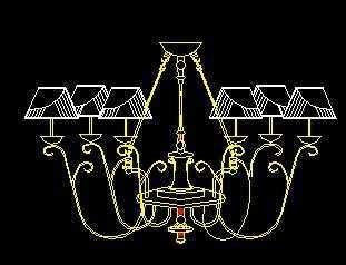 符号CAD图块-灯类免费下载发电机常用cad图片