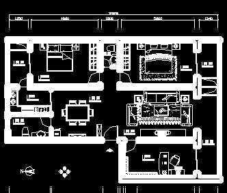 室内装修施工设计图