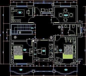 新农村建筑施工图纸