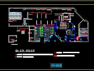 某厨房设备平面布置图免费下载 建筑装修图