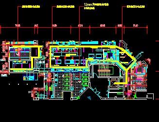 某餐厅电路施工图