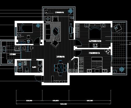 某住宅楼装修设计图纸免费下载