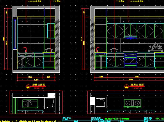 现代欧式四室两厅建筑装修图