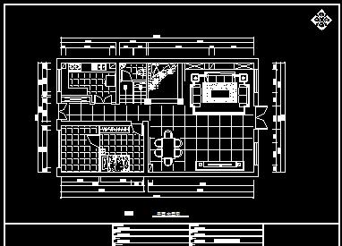 现代欧式三层别墅装修施工图