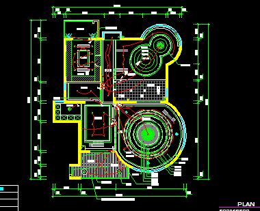 中式二层别墅建筑施工图
