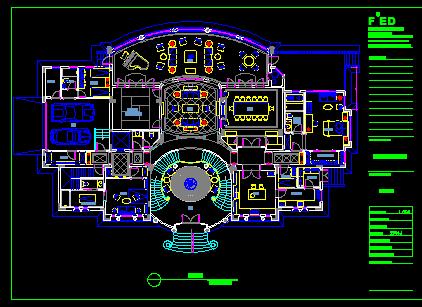 三层别墅室内装修设计图