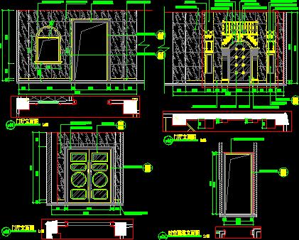 某清吧建筑装修图纸免费下载天正2014不怎么打解决图纸开图片
