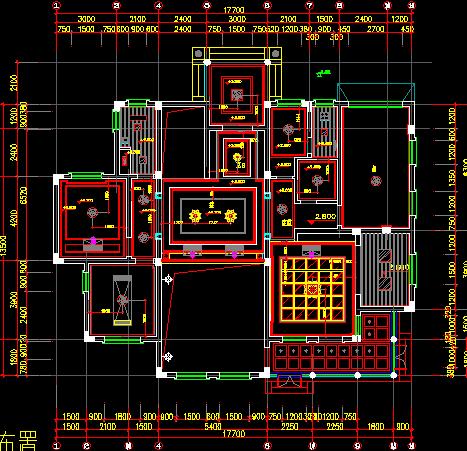 两层欧式别墅装修设计图纸