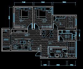某住宅装修设计图纸