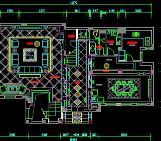 105平方米二层欧式别墅装修设计图