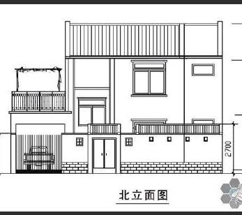 农村自建房设计图纸免费下载 建筑户型平面图图片