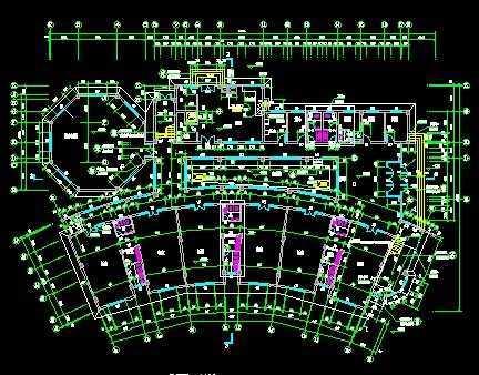 建筑户型平面图 - 土木工程