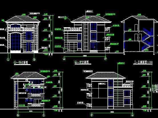天正建筑举例讲解