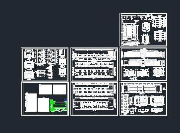 某中学教学楼建筑设计图