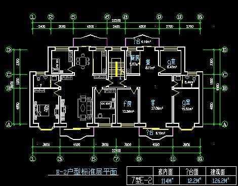 图纸户型建筑平面图纸免费下载时间接触器2一个个住宅v图纸图片