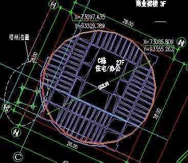 40塔吊平面图