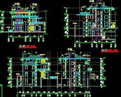 建筑施工图免费下载
