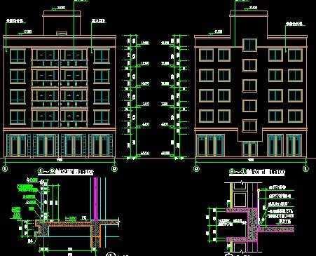 住宅楼建筑结构施工图纸