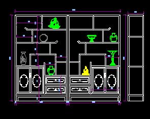 酒柜设计详图