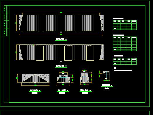 平改坡建筑结构施工图纸