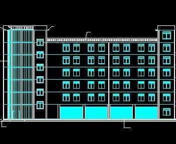 毕业设计综合办公楼结构施工图