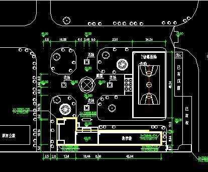 某中学教学楼设计图纸免费下载 - 建筑户型平面图图片