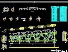 30m梯形课程钢结构桁架设计26P免费下载-结图纸改造哪里图片