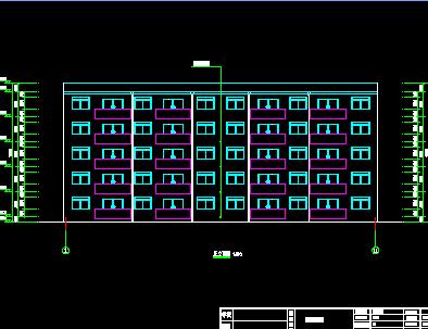 五层框架住宅楼毕业设计(计算书、建筑图纸、结构图纸)