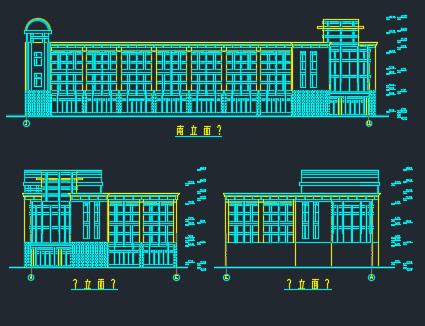 2677.9�O三层框架办公楼施工组织设计及报价工程量清单(含图纸、进度表)