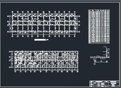 2824.28平米六层框架结构住宅楼龙八娱乐网上娱乐