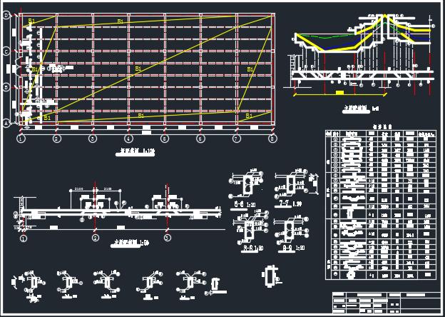 框架结构多层工业厂房毕业设计