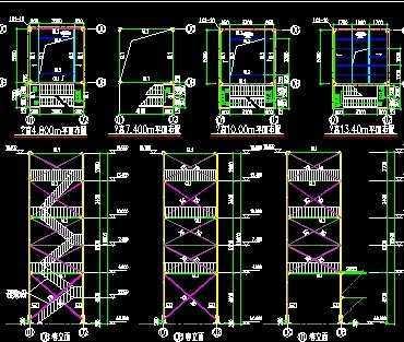 厂房钢结构施工图免费下载