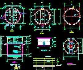 集水井设计图免费下载照电设计图片