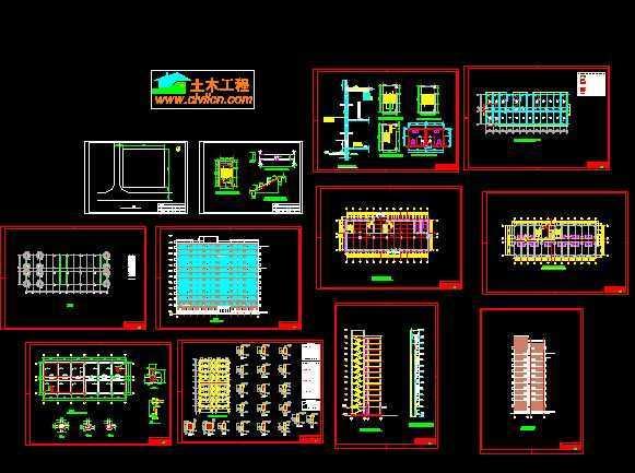 高层建筑厂房设计图免费下载-版面配筋开学黑板报结构设计图简单美图片