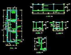 某污水厂厌氧池结构设计图图片