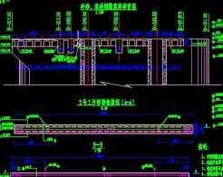 冲砂闸及厂房墩顶桥梁设计图免费下载-赣字的标志设计图片