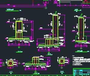 某水泥厂大门结构工程设计图