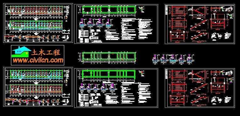小学教学楼结构图