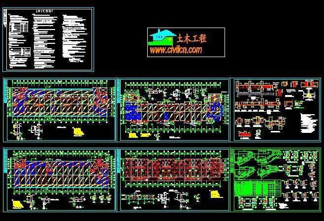 住宅建筑结构平面图免费下载