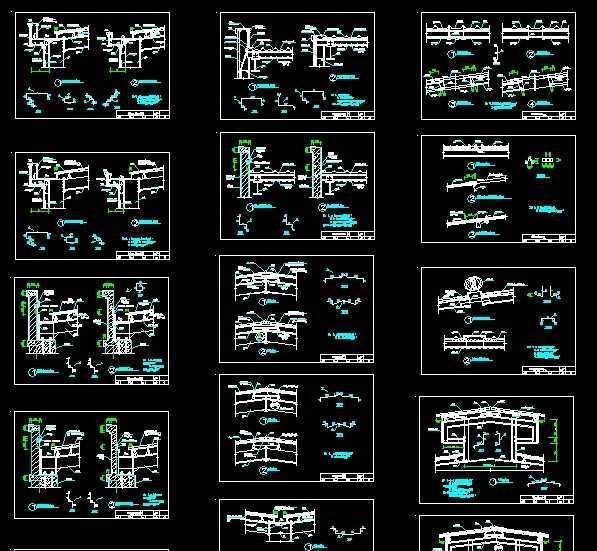 恒达围护系统收边节点图免费下载