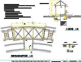 钢结构玻璃长廊施工图